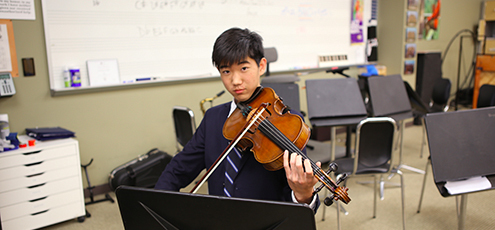 Sejin Park '20 Selected for All-State Orchestra