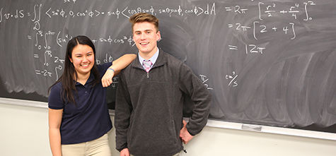 EA Math Duo Wins Regional College Competition