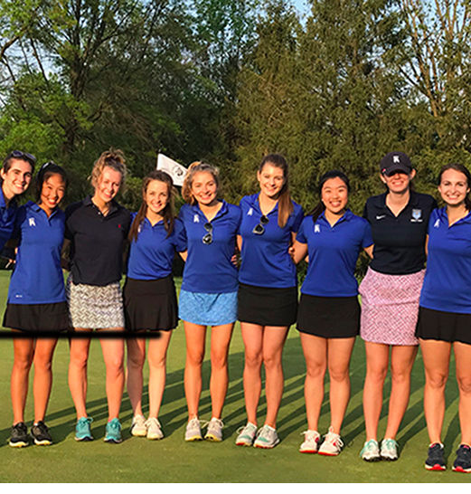 Girls' Varsity Golf Wins First-Ever Inter-Ac Title