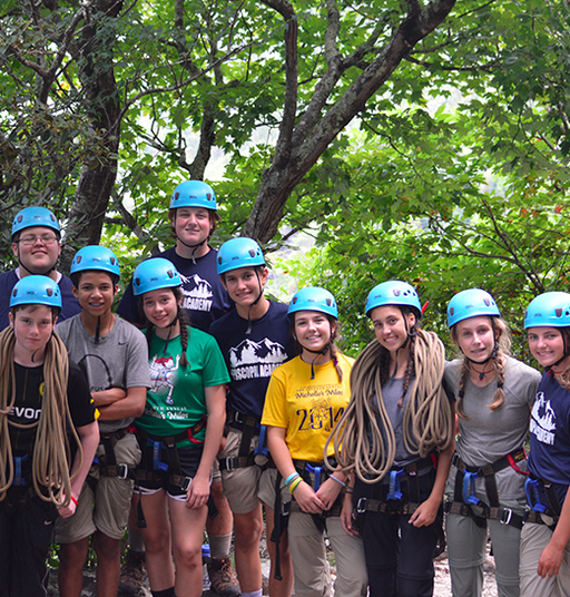 Freshmen Kick Off School Year with Outward Bound Adventure
