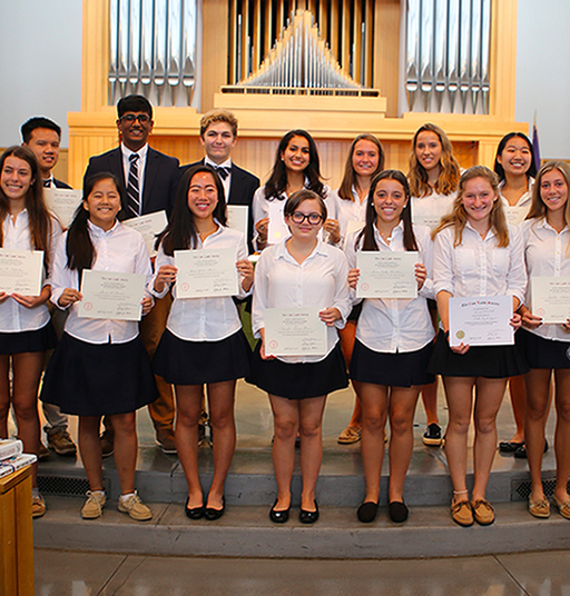 Student Accomplishments Celebrated at Honors Chapel