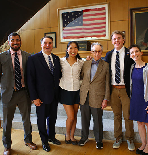 Inaugural Lilley Fellows Recap a Year of Intensive Study