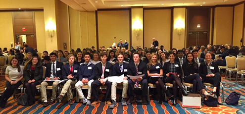 US Students Attend Penn Model UN High School Conference