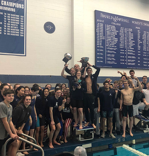 Swim & Dive Teams Win First-Ever Easterns Championship