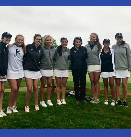 Girls' Golf Wins the Inter-Ac for 2nd Consecutive Year