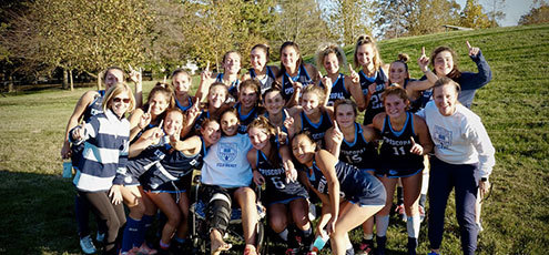 Field Hockey Wins 13th Inter-Ac Title
