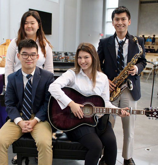 Students Share Musical Talents During Dora Khayatt Competition