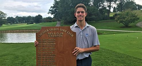 Golfer Shane Lawler '21 is Main Line Athlete of the Week